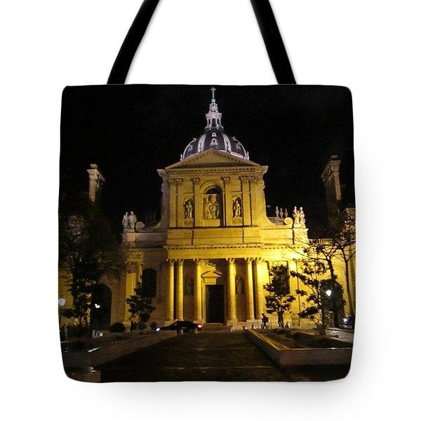 Sorbonne Night Tote Bag