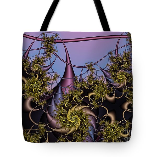 Tote Bag featuring the digital art Sorcerers Apprentice by Karin Kuhlmann