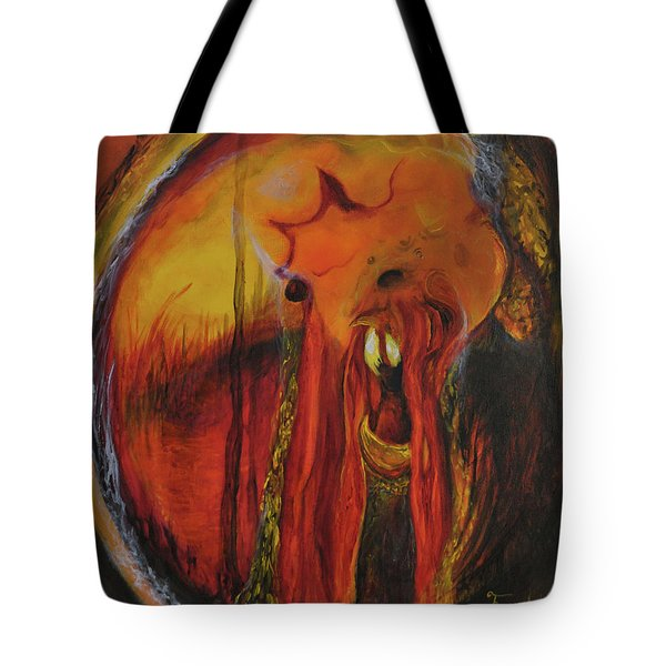 Sorcerer's Gate Tote Bag