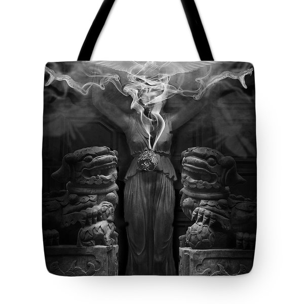 Sorceress Tote Bag by Larry Butterworth