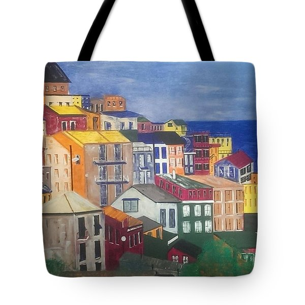 Sorrento Italy Tote Bag by Judi Goodwin