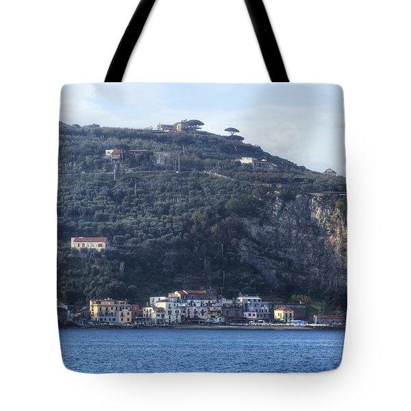 Sorrento - Marina Di Puolo Tote Bag