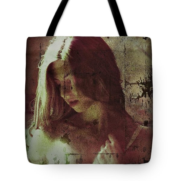 Tote Bag featuring the photograph Sorrow by Allen Beilschmidt