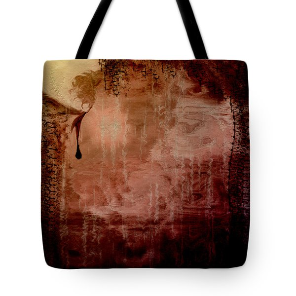 Sorrow Tote Bag by Linda Sannuti