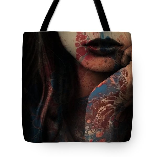 Sorry Seems To Be The Hardest Word  Tote Bag