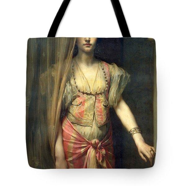Soudja Sari Tote Bag by Gaston Casimir Saint Pierre