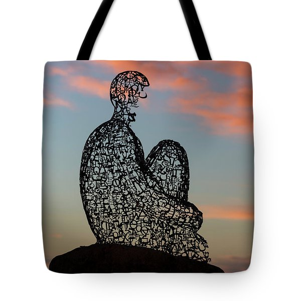 Soul At Sunset Tote Bag