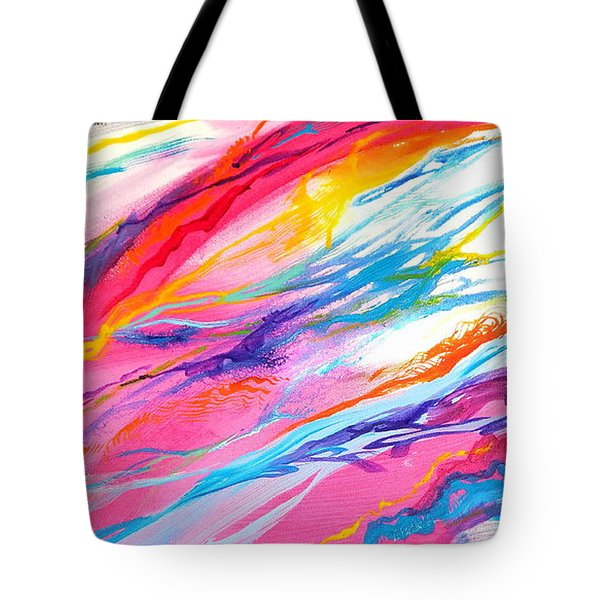 Soul Escaping Tote Bag by Expressionistart studio Priscilla Batzell