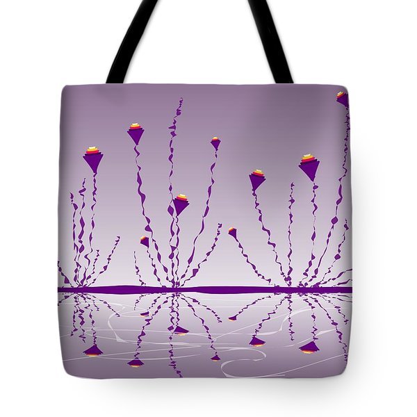Soul Flowers Tote Bag by Anastasiya Malakhova