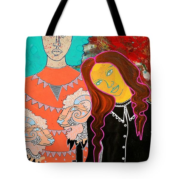 Tote Bag featuring the painting Soul Guardian by Amy Sorrell