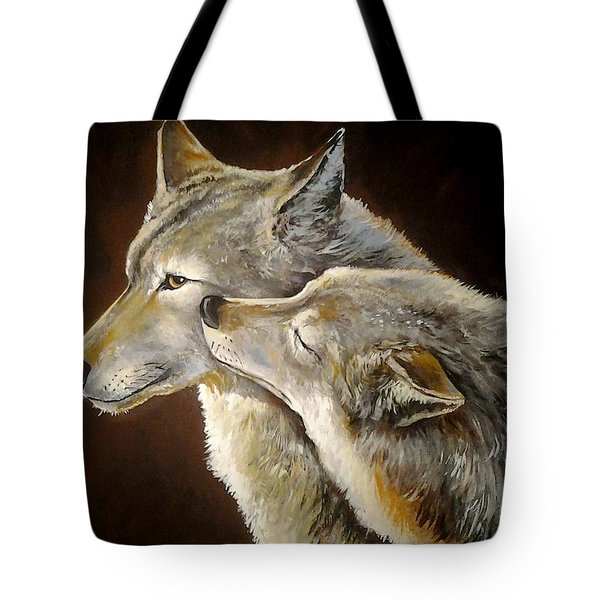 Soul Mates Tote Bag by Tom Carlton