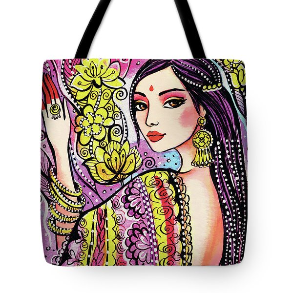 Soul Of India Tote Bag