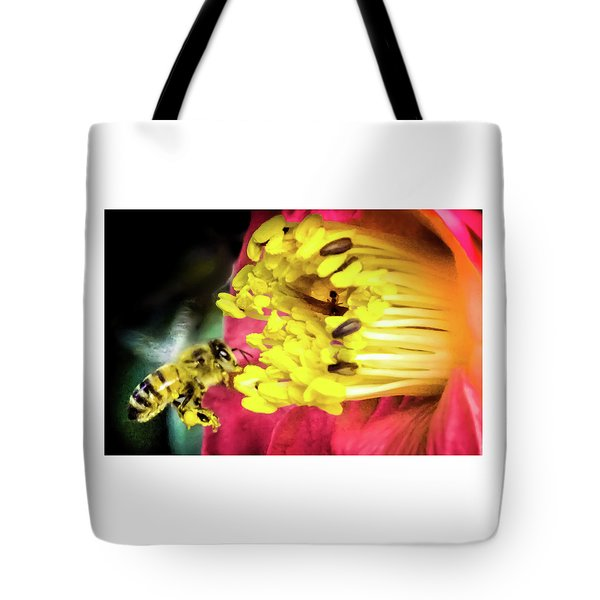 Tote Bag featuring the photograph Soul Of Life by Karen Wiles