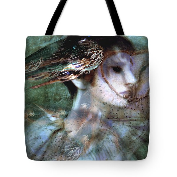 Tote Bag featuring the painting Soul Portrait by Ragen Mendenhall