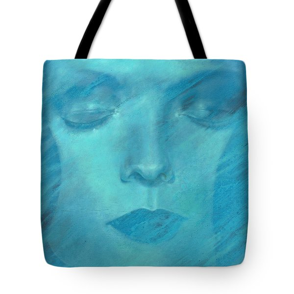Tote Bag featuring the painting Soul  by Ragen Mendenhall