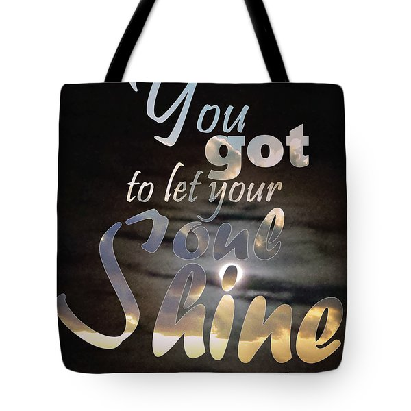 Soul Shine Tote Bag by Thomasina Durkay