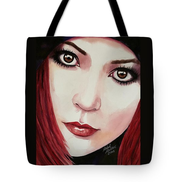 Tote Bag featuring the painting Soul Sister by Michal Madison