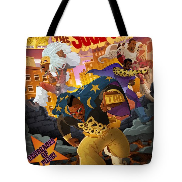 Soul Sonic Force Tote Bag
