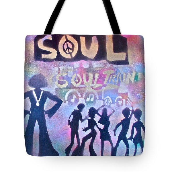 Soul Train 1 Tote Bag by Tony B Conscious