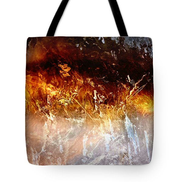 Soul Wave - Abstract Art Tote Bag by Jaison Cianelli