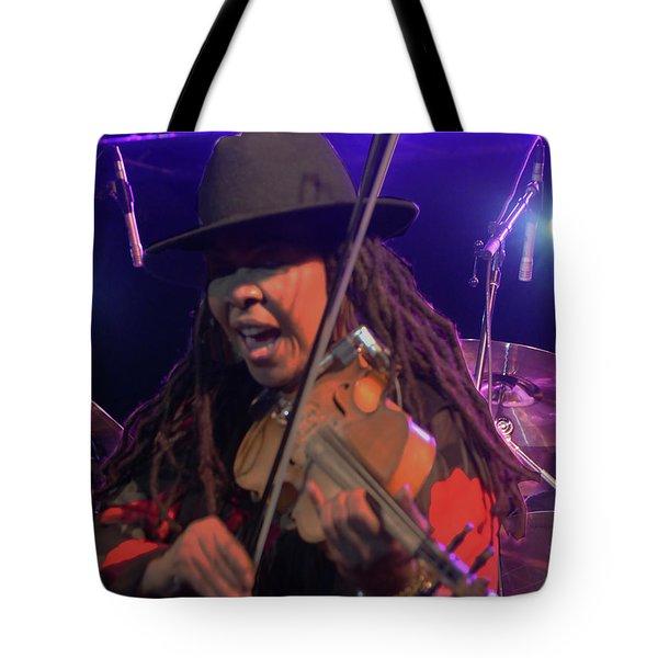 Karen Briggs - Soulchestral Groove Tote Bag