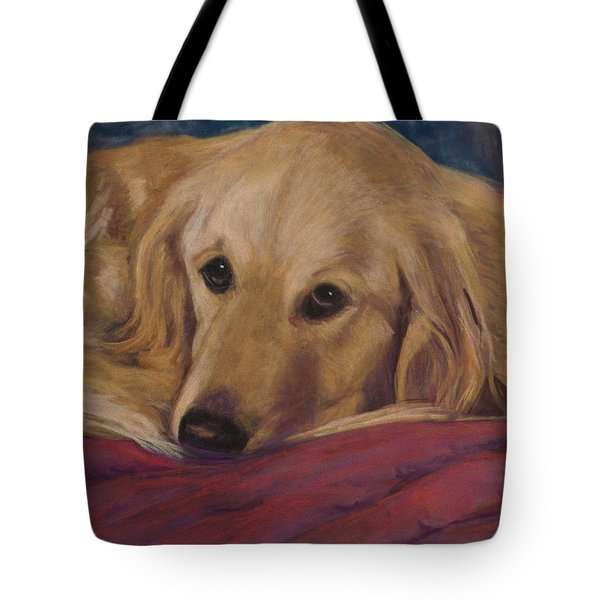 Soulfull Eyes Tote Bag by Billie Colson