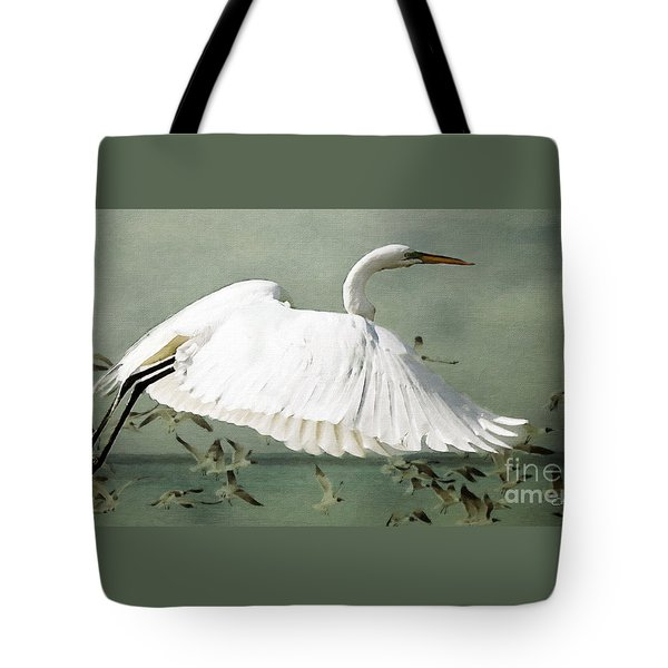 Souls Take Flight ... Tote Bag by Chris Armytage