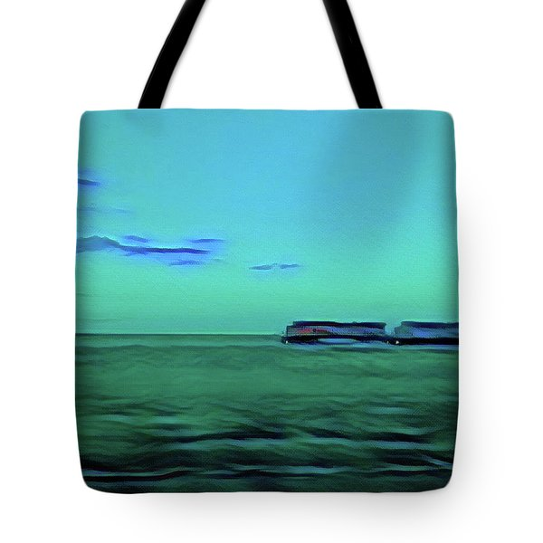 Sound Of A Train In The Distance Tote Bag