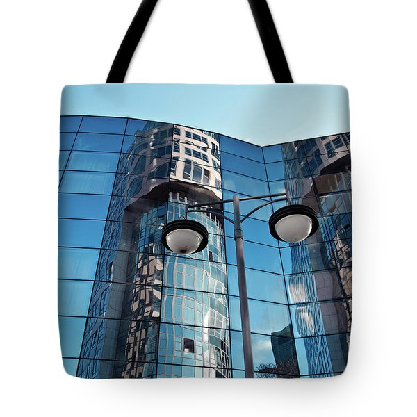 Tote Bag featuring the photograph Sound Of Glass by Silva Wischeropp