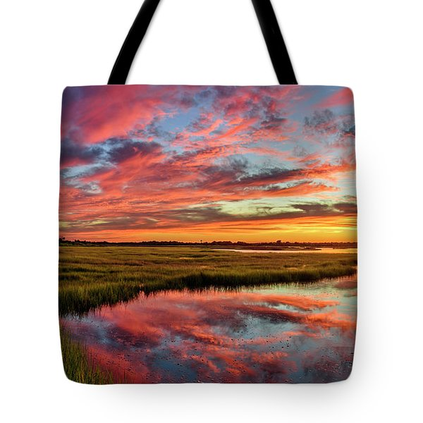 Sound Refections Tote Bag