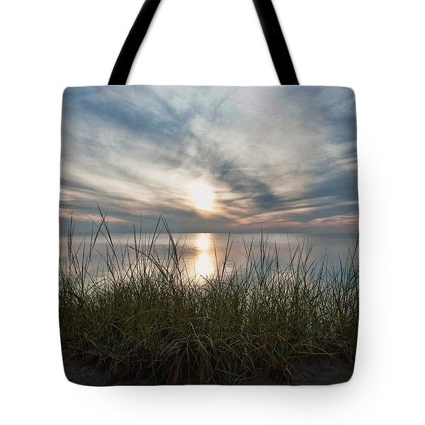Sound Sunset Tote Bag