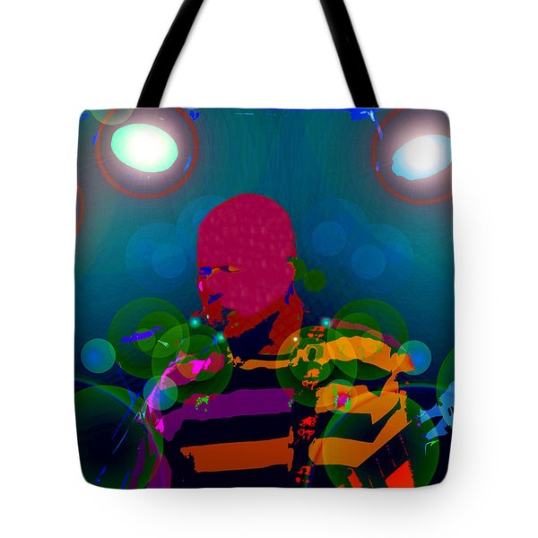 Sound Waves Tote Bag by David Lee Thompson