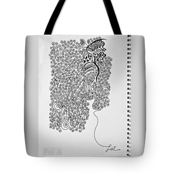 Soundless Whisper Tote Bag by Fei A