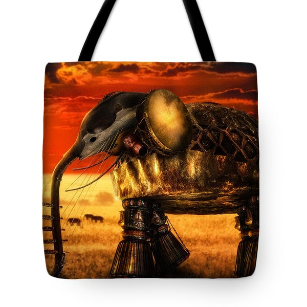 Sounds Of Cultures Tote Bag