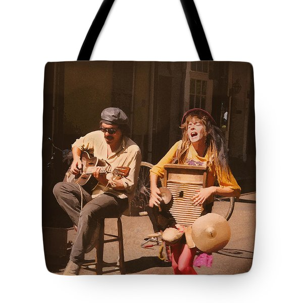 Sounds Of New Orleans Tote Bag