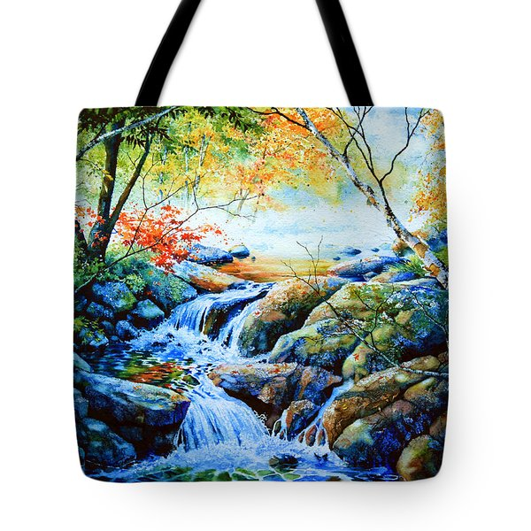 Sounds Of Silence Tote Bag by Hanne Lore Koehler
