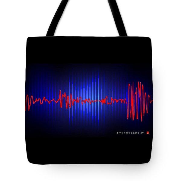 Soundscape 26 Tote Bag