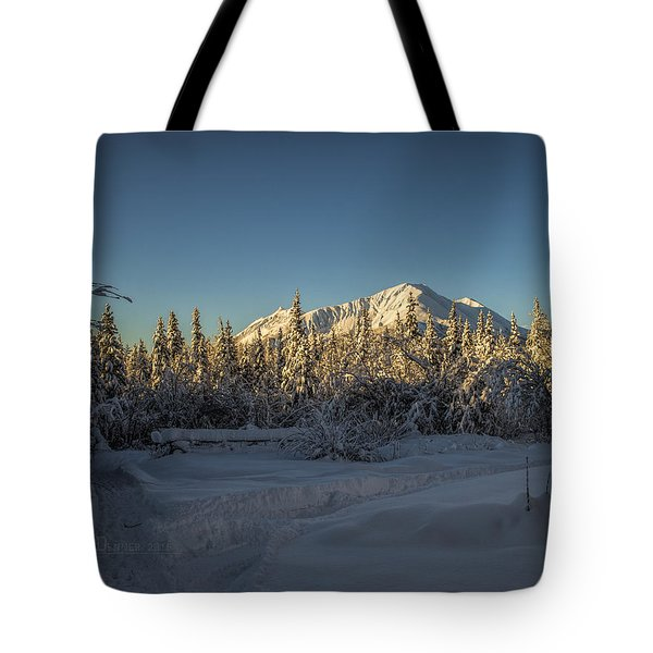 Sourdough Peak Tote Bag