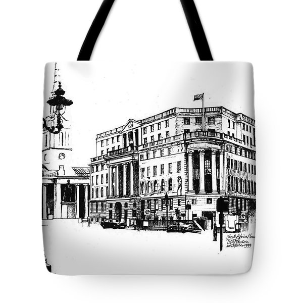 South Africa House Tote Bag