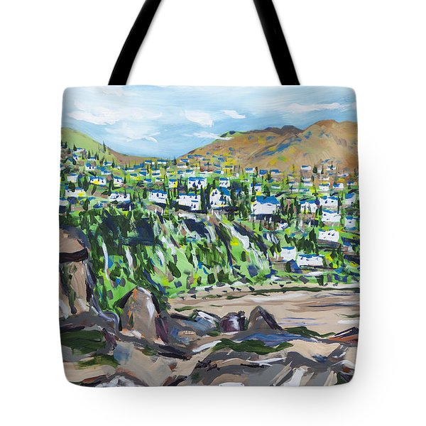 South African Coastline Part One Tote Bag
