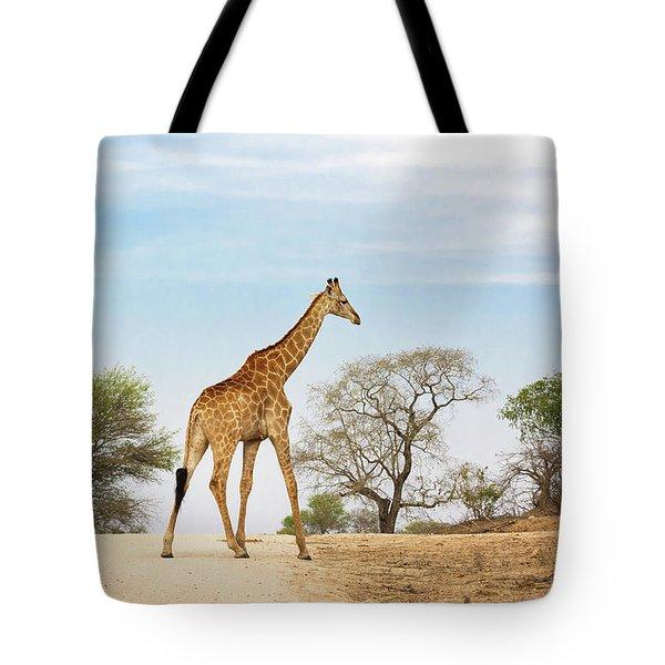 South African Giraffe Tote Bag