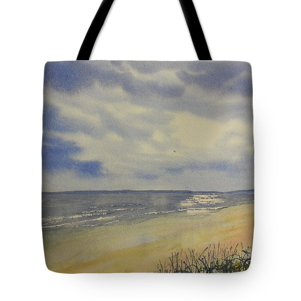 South Beach From The Dunes Tote Bag