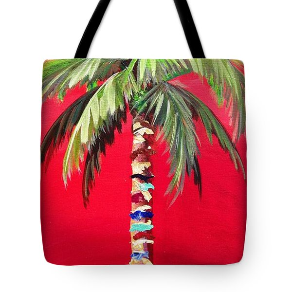 South Beach Palm II Tote Bag