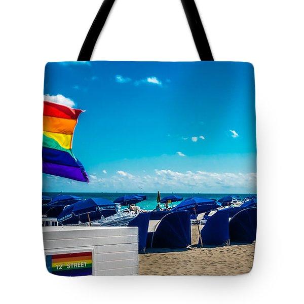 South Beach Pride Tote Bag