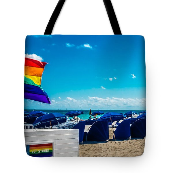 South Beach Pride Tote Bag