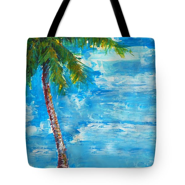 South Beach Wall Tote Bag