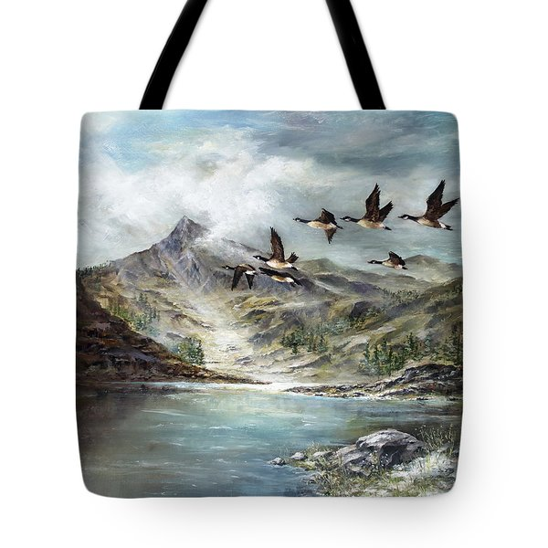South Before Winter Tote Bag by David Jansen