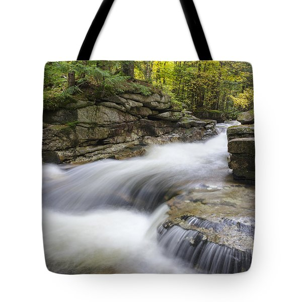 South Branch Of The Gale River  - White Mountains New Hampshire Tote Bag