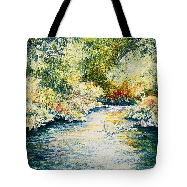 South Branch Of The Little Wolf Tote Bag