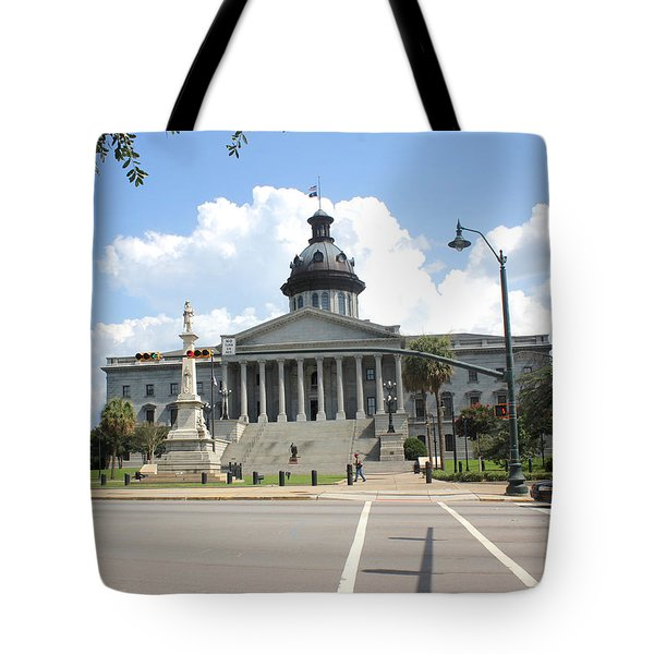 Tote Bag featuring the photograph South Carolina State House 6 26 by Joseph C Hinson Photography